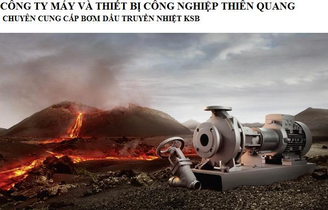Bơm dầu truyền nhiệt ksb